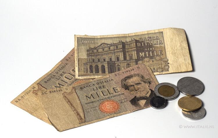 Giuseppe Verdi op Italiaans geld © Claudia Zanin