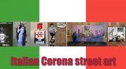 Kunstige Corona street art
