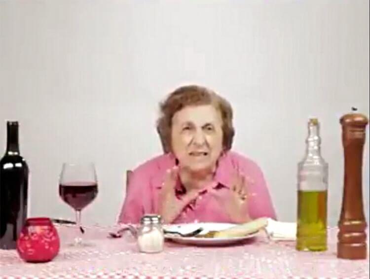 Is dit Italiaans eten? Che schifo! Wat smerig!