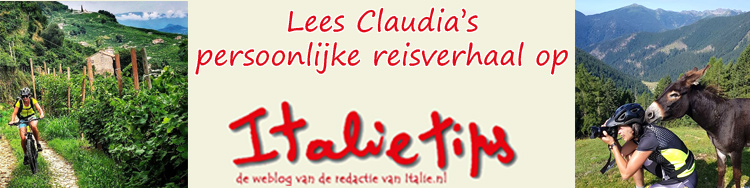 Claudia's persoonlijke reisverslag