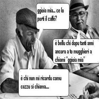 Italiaanse koffie humor