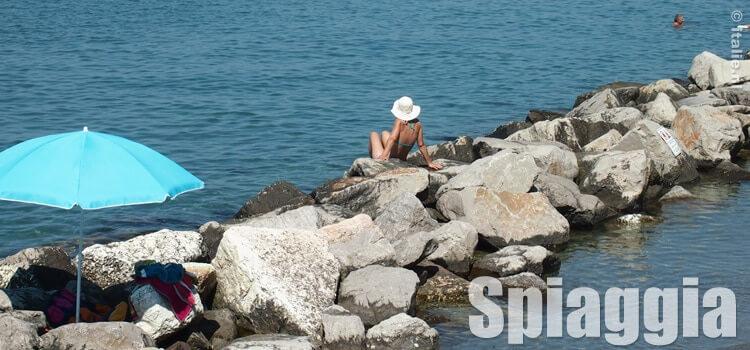 Italiaanse kust en stranden