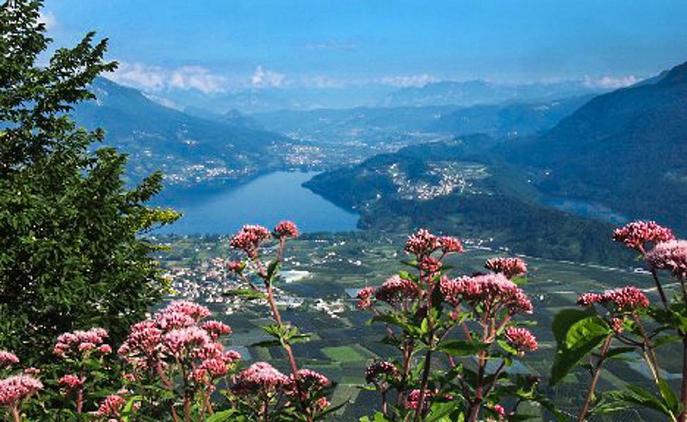 Valsugana: Lago di Caldonazzo en Lago di Levico