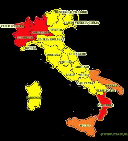 landkaart corona maatregelen 6 november 2020