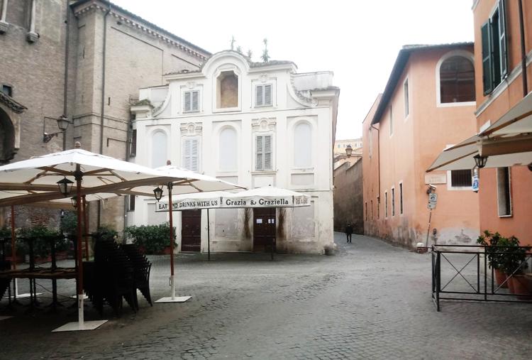 Leeg Rome Coronacrisi