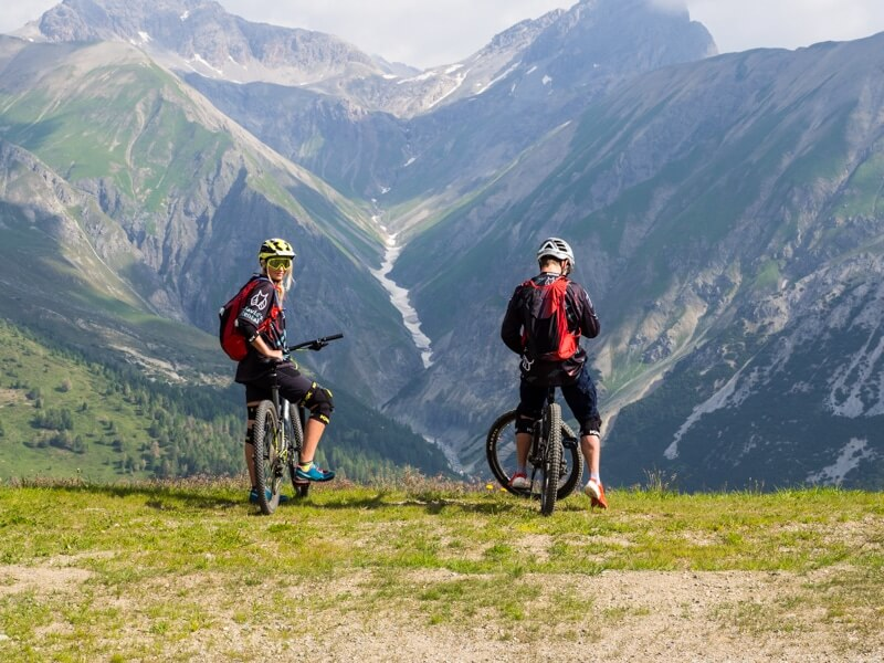 Mountainbiken in Livigno © Claudia Zanin