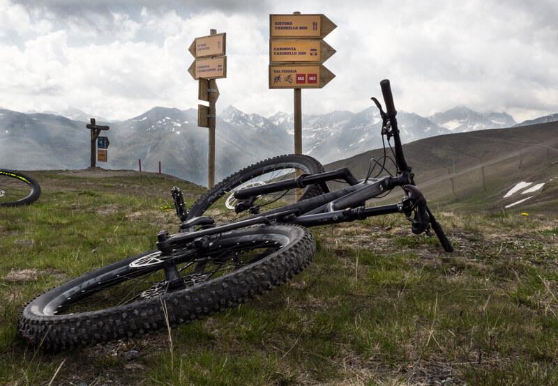 Livigno mountainbike trails © Claudia Zanin