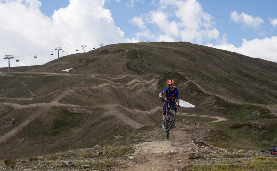 Livigno mountainbike trails downhill © Claudia Zanin