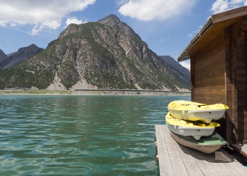 Watersportfun op Lago di Livigno © Claudia Zanin