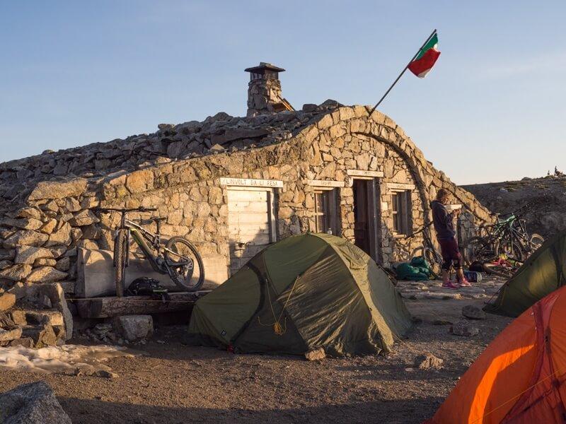 Overnachten in rifugio Madonon in Livigno © Claudia Zanin