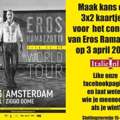 Concert Eros Ramazzotti - Amsterdam 2019