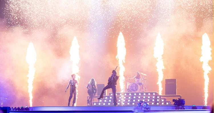 maneskin 2e repetitie Eurovisiesongfestival 2021 © EBU Andres Putting