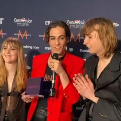 Maneskin wint met Zitti e buoni 'beste liedtekst award ESF21'