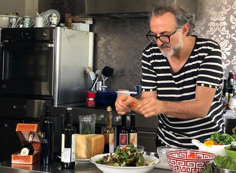 Massimo Bottura in actie © IKvK