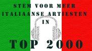 Help meer Italiaanse artiesten aan een plek in de Top 2000