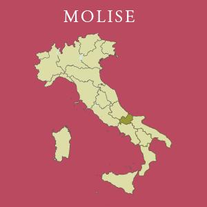 Kaart van Molise