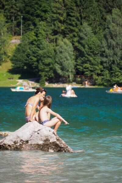 Lago di Molveno © Claudia Zanin