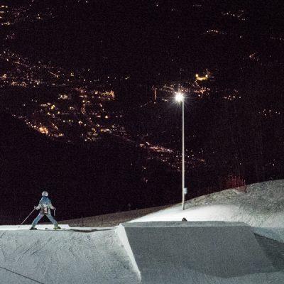 Wintersport bij Monte Bondone