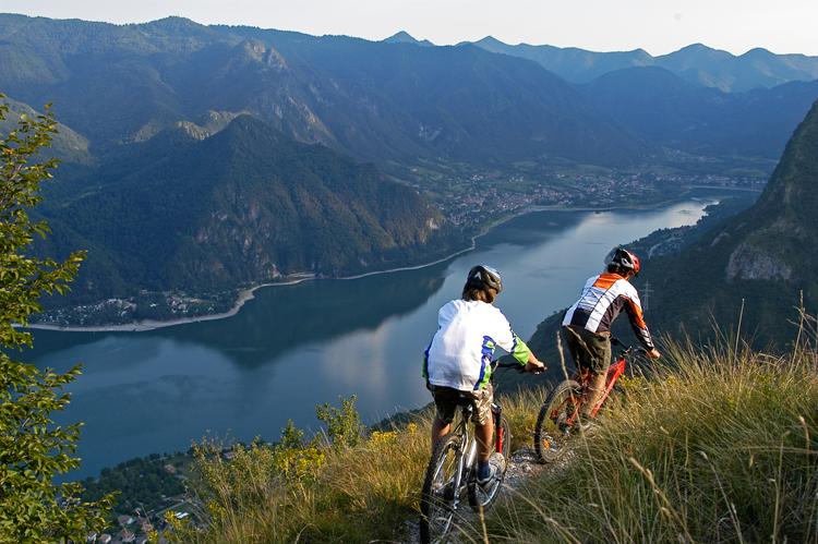 Monte Censo - boven Lago d'Idro
