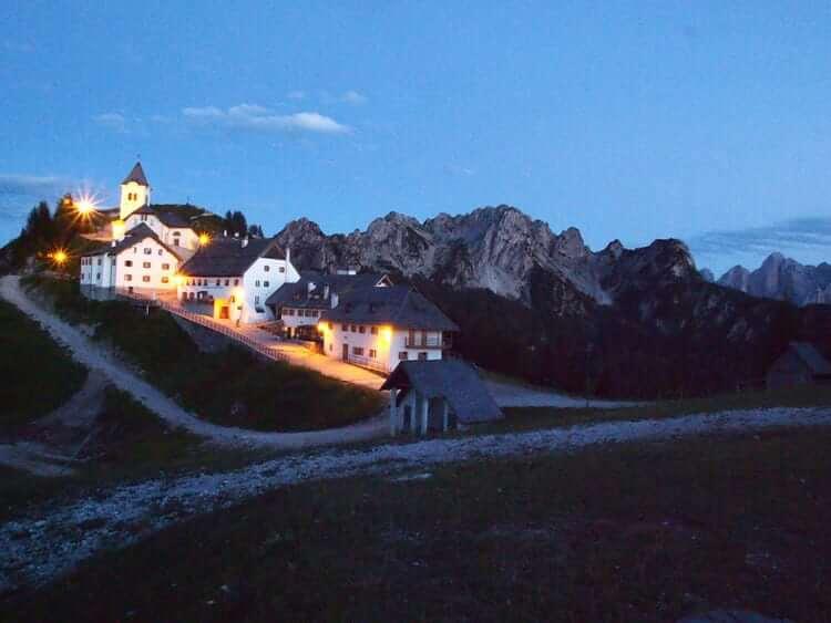 Monte Lussari in Friuli © Claudia Zanin