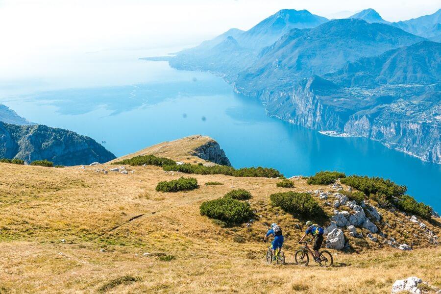 mountainbike route gardameer monte altissimo © Ronny Kiaulehn