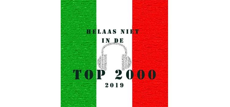 Italiaanse artiesten in de Top 2000 - wie wel en wie niet