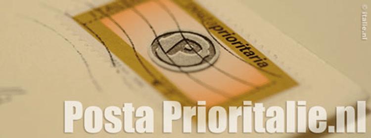 Nieuwsbrief Posta Prioritalie.nl
