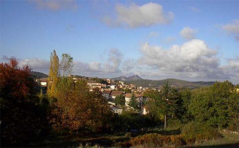 het Italiaanse dorp Ollolai