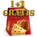 1 plus 1 gratis Panettone