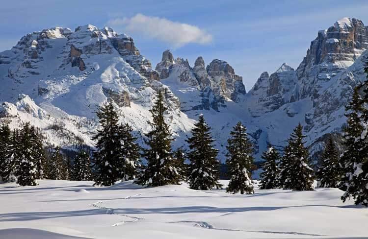 panorama Brenta en Malga Ritorto. Fototeca Trentino Marketing S.p.A. - FOTO van Pio Geminiani