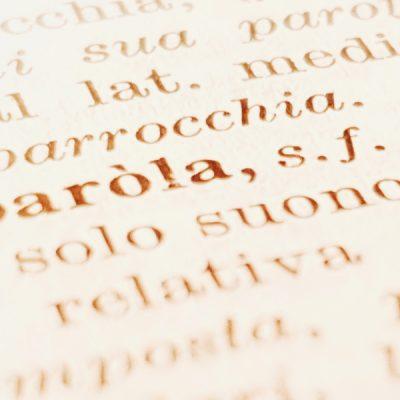 Nieuwe Italiaanse woorden