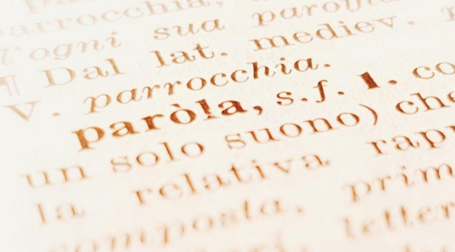 Opvallende nieuwe Italiaanse woorden