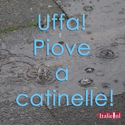 Terminologie van het weerbericht in Italië