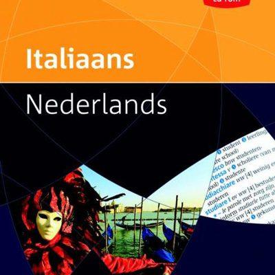 Prisma pocketwoordenboek Italiaans - Nederlands - uitverkoop