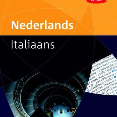 Prisma pocketwoordenboek Nederlands - Italiaans - uitverkoop