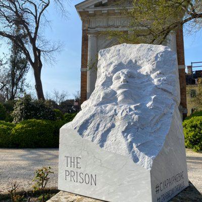 Corona-beeld The Prison in Venetië