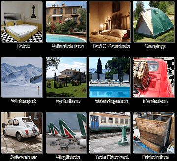 reisbureau italie