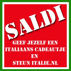 Uitverkoop Italiaanse producten