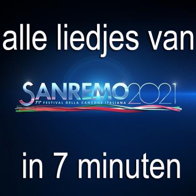 Alle liedjes van Sanremo festival 2021 in 7 minuten