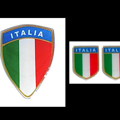 Scudetto stickerset Italiaanse vlag - Uitverkoop