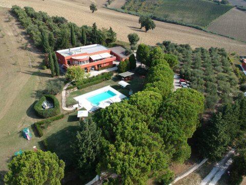 Villa Shanti House, Le Marche