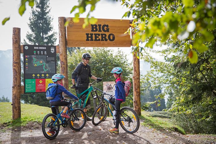 Skirama: bikeparks voor jong en oud