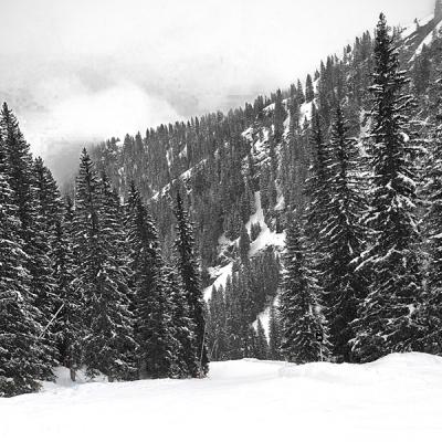 Overvloedige sneeuwval Italië
