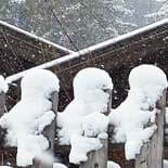 sneeuw alpen italie