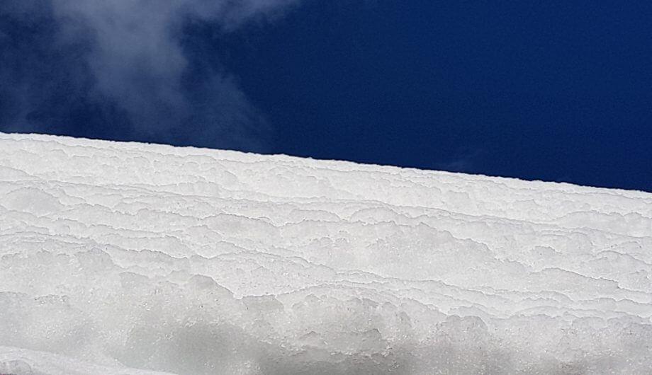 Sneeuwdump noord Italie © Claudia Zanin