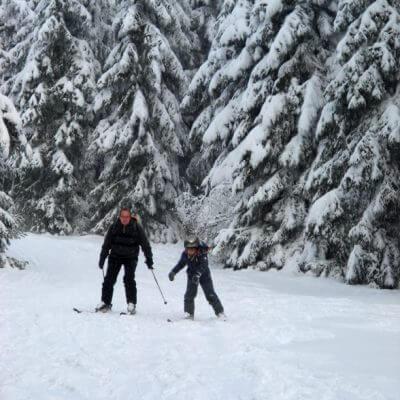 Sneeuwpret in Italië
