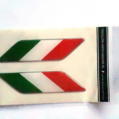 Sticker Italiaanse vlag spatbord - Uitverkoop
