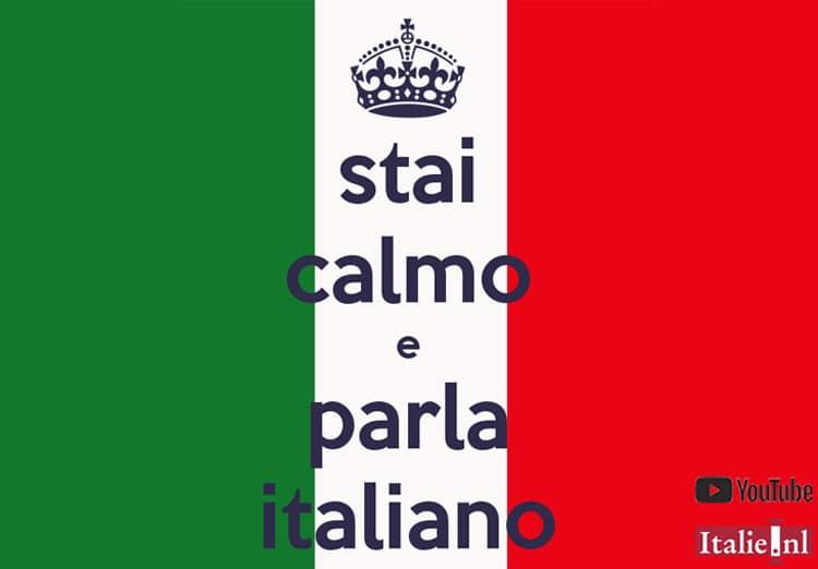 Italiaanse les op You Tube - Stai calma e parla italiano