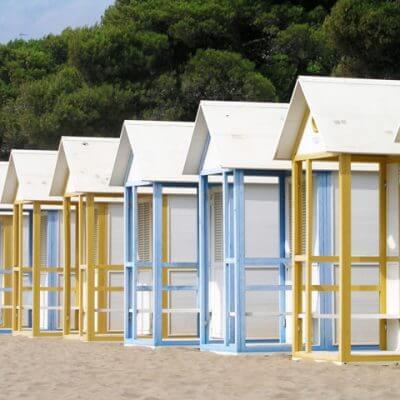 Italiaanse strandvakantie
