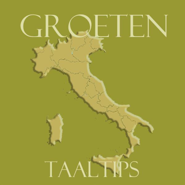 Groeten in het Italiaans